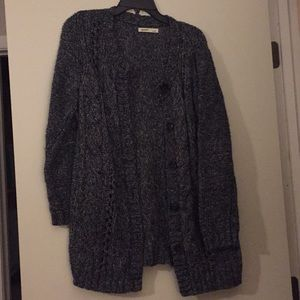 Old Navy long cardigan sweater, size large